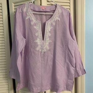 Lilly Pulitzer Light Purple Top